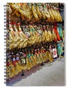 Meat Market In Palma Majorca Spain Spiral Notebook