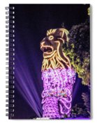 Merlion Spiral Notebook