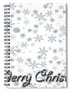 Christmas Card 8 Spiral Notebook