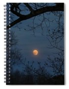 Misty Moonrise Spiral Notebook