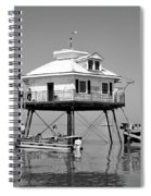 Mobile Bay Lighthouse Spiral Notebook