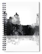 Montgomery Alabama Skyline Spiral Notebook