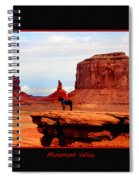 Monument Valley II Spiral Notebook