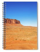 Monument Valley Spiral Notebook