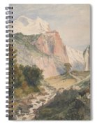 Mountain Landscape Spiral Notebook