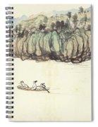 Mountain Landscape Spiral Notebook