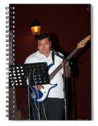 Musicians In The Park Candelaria In Valladolid Spiral Notebook