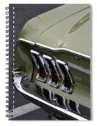Mustang Fastback Spiral Notebook