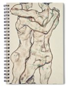 Naked Girls Embracing Spiral Notebook