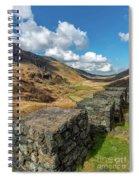Nant Ffrancon Pass Snowdonia Spiral Notebook