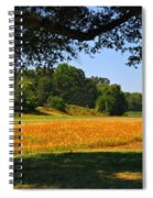 Ncdot Wildflowers Spiral Notebook