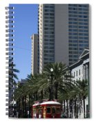 New Orleans Cable Car Spiral Notebook
