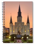 New Orleans St Louis Cathedral Spiral Notebook