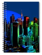New York Colors Spiral Notebook