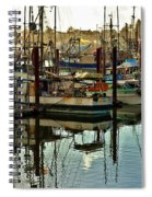 Newport Marina Spiral Notebook