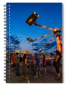 Night Riding Spiral Notebook