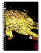 Nile River Crocodile Spiral Notebook