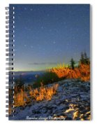 Northern Lights At Mount Pilchuck Spiral Notebook