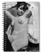 Nude Posing, C1888 Spiral Notebook