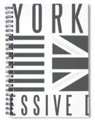 Ny Vs Uk Spiral Notebook