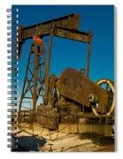 Oil Rig  Spiral Notebook