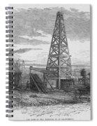 Oil Well, 19th Century Spiral Notebook