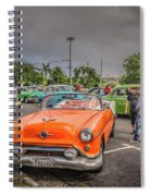 Old Car Spiral Notebook
