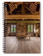 Old House Interior Spiral Notebook