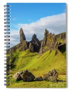 Old Man Of Storr, Isle Of Skye, Scotland Spiral Notebook