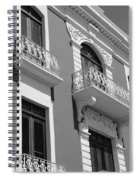 Old San Juan Puerto Rico Downtown  Spiral Notebook