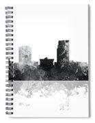 Omaha Nebraska Skyline Spiral Notebook