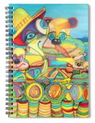 One Day On The Lake Spiral Notebook