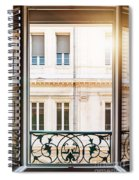 Open Window In Toulouse Spiral Notebook