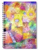 Oriental Pleasure Garden Spiral Notebook