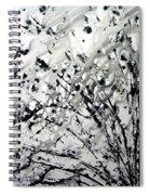 Painting Noir Spiral Notebook