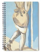 Painting Of A Young Woman Spiral Notebook