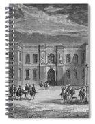Paris Observatory, 17th Century Spiral Notebook