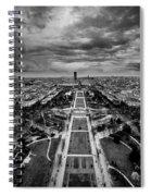 Paris Panorama Spiral Notebook