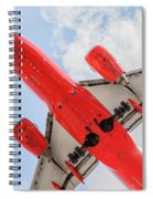 Passenger Jet Coming In For Landing  Spiral Notebook