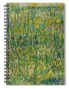 Patch Of Grass Spiral Notebook