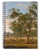 Patterdale Landscape With Cattle Spiral Notebook