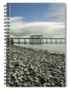 Penarth Pier 6 Spiral Notebook