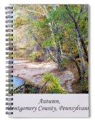 Pennsylvania Autumn Spiral Notebook
