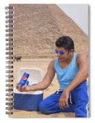 Pepsi Advertisement Spiral Notebook