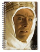Peter O'toole As Lawrence Of Arabia Spiral Notebook