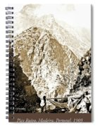 Pico Ruivo Mountain, Madeira, Portugal, C.1900 Spiral Notebook