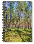 Pinewood Spiral Notebook