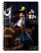 Pirate With A Treasure Chest Spiral Notebook
