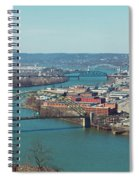 Pittsburg Skyline Spiral Notebook