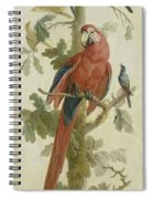 Plants And Animals Spiral Notebook